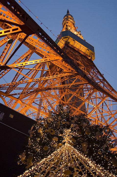 東京タワー縦